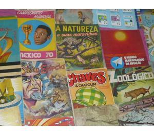 350 ÁLBUNS DE FIGURINHAS R$. COMPRO, VENDO E COLECIONO