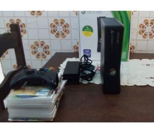 XBox 360 SLIM DESBLQUEiO RGH, 1 CONTROLE 15 JOGS ACEITO PS 2