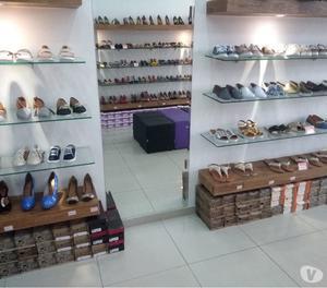 Mobílias para loja de calçados