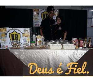 PROMOÇÃO: CREPE SUÍÇO + CASCATA DE CHOCOLATE = PIPOCA