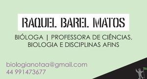 Aulas particulares Ciências, Biologia e disciplinas afins