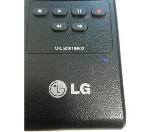 Controle Remoto Lg Original Para Tv Lcd Mkj