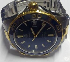 Relógio marca TAG heur modelo carrera 5 aço ouro