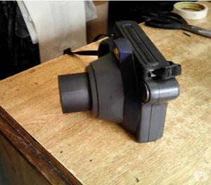 máquina fotografica instant camera instax 100 fujifilm