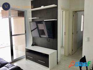 Apê 56 m², 2 dorms, 1 vaga, Varanda Gourmet- Vila Formosa