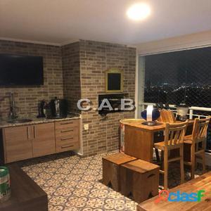 Apartamento mobiliado no Edificio Ghaia de 158m²-