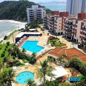 Apto 100 m2, 3 dormitórios, 2 suítes, 2 vagas Guarujá SP