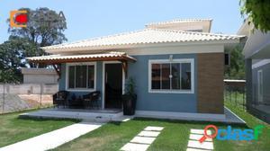 Casa em Condomínio em Maricá, 3 quartos