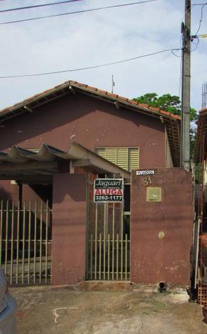 Casa residencial para locação, Santa Angelina, Agudos -