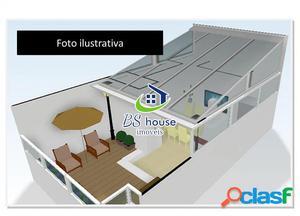 Cobertura frente lado esquerdo - Villa Pinheirinho