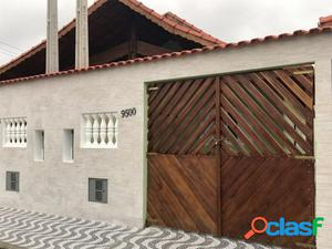 Oportunidade Linda Casa Nova Em Mongaguá!!! Lado Praia!!!