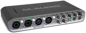 Placa de Som Interface M Audio Fast Track Ultra 8x8 Usb