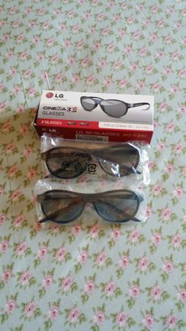 Óculos 3d lg cinema glasses original caixa com 2 óculos a8821c6dad