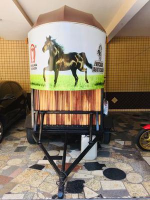 Reboque para 2 cavalos, ano 2016