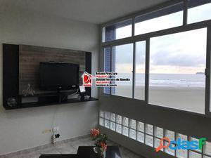 Apartamento Pé na Areia 3 dormitórios, 1 vaga, Santos