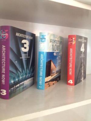 Coleção Architecture Now! Volumes 2, 3 e 4 em ótimo