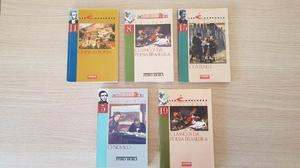 Livros Clássicos da Poesia Brasileira (Lote com 5 Unidades)