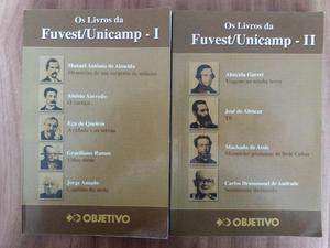 Livros para vestibular comentados Fuvest/Unicamp I e II ?