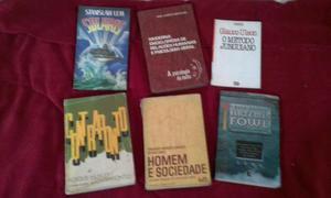 Vendo lote de livros diversos