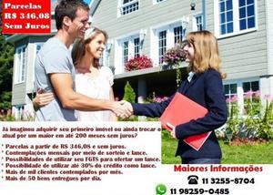Compre sua Casa ou Apartamento com uma pequena entrada