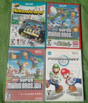 Jogos de Nintendo wii e wii u