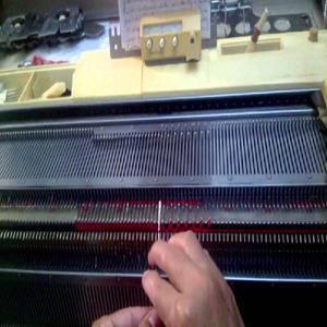 Máquina de tricô Elgin Brother 820