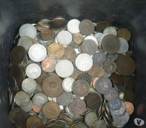 104 QUILOS DE MOEDAS ANTIGAS DE 1.717 A 1996 R$1.000 TUDO