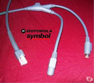 2 Cabos Zebra Ps2 Para Leitor Symbol Motorola - 2,1 Metros