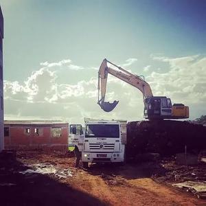 Aluguel Da Escavadeira Hidráulica De 21t