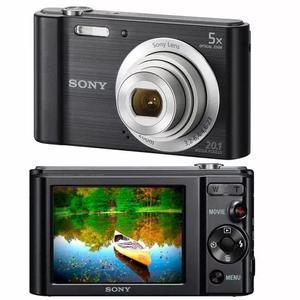 Camera Digital Sony Dsc-w800 20.1mp 16gb Zoom Óptico