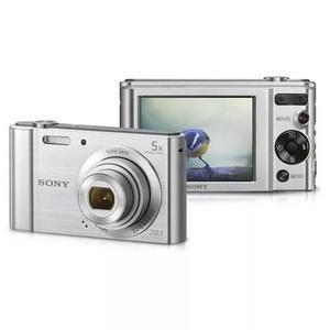 Câmera Digital Sony Dsc W800 20.1 Mp 5x Zoom Camera