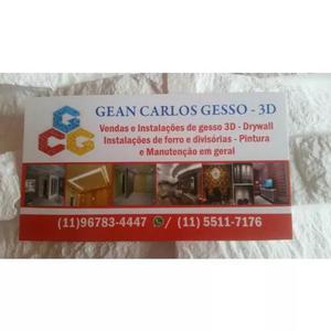 Gean Carlos Gesso 3d E Manutenção E Pinturas