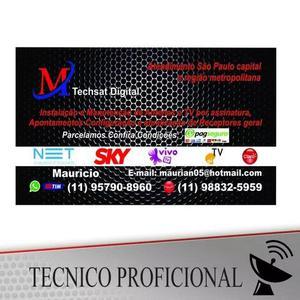 Instalador De Antenas São Paulo Zona Norte,sul,leste, Abc