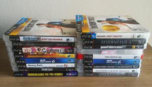 Jogos do PS3 Novos e Usados apartir de