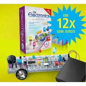 Kit De Eletronica Para Montar, Aprender E Se Divertir