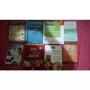 Kit De Livros Para Estudantes De Nutrição