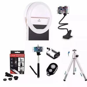 Kit Youtuber Gravação Celular Video Acessorios + Ring