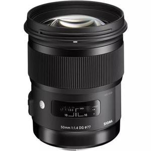 Lente Sigma Art 50mm F/1.4 Dg Hsm Para Nikon   Garantia E Nf
