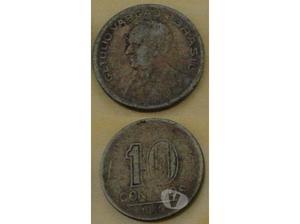 Moedas De 2 Cruzeiros 1945,50 Centavos 1947,10 Centavos 1945