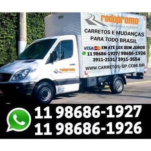 Mudanças Fretes Carretos P/td Brasil