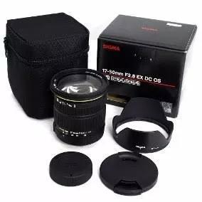 Objetiva Sigma 17-50 F/2.8 Ex Dc Os Hsm Canon