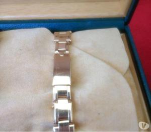 Relógio marca Rolex modelo lerd osyter todo em ouro rosado