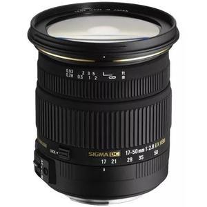 Sigma 17-50mm F2.8 Ex Dc Os Hsm + Parasol (p/ Nikon) S/j