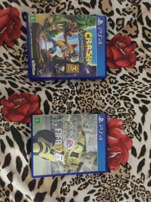 Vendo ou troco 2 jogo de PS4