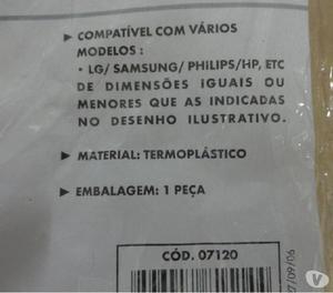 "Capa Protetora Para Monitor Lcd 15"" Clone"