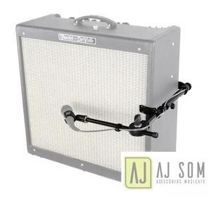 Estante De Microfone P/amplificador Guitarra,baixo-meteoro