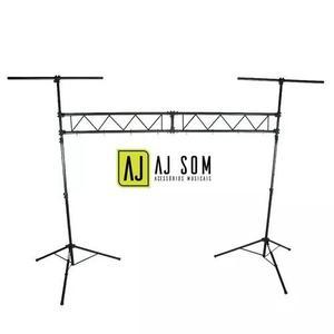 Estrutura,box Truss P/iluminação Profissional Dj