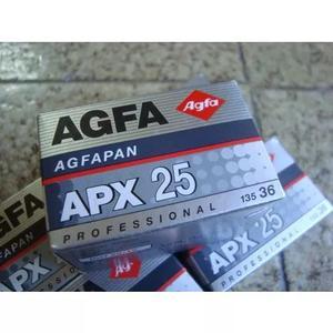 Filme 35mm - Agfa - Iso 25 - Lote Com 5 Caixas Lacradas