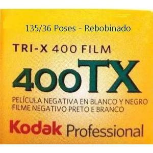 Filme Kodak Tri-x P&b 135/36 Poses Asa/iso 400