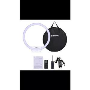 Iluminador Ring Light Pro Yongnuo Yn308 Bi-color Com Fonte